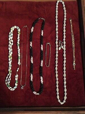 Very Nice 6 Piece lot of Estate Costume Jewelry