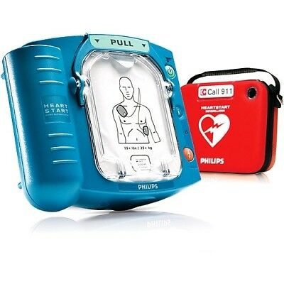 New Philips Heartstart Onsite AED M5066A 2020 Pads New Battery 6 Year Warranty