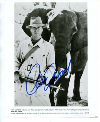 CLINT EASTWOOD autograph HAND SIGNED 643