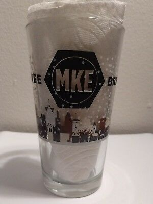 MKE Brewing Co - Winter Season Pint Glass