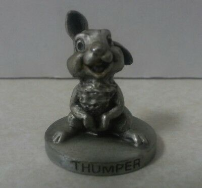 Disney Walt Disney Productions Fine Pewter Figurine THUMPER Made in USA