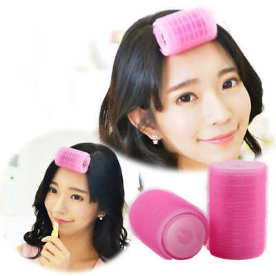 Plastic Hair Styling Perm Tools Hook Loop Fasteners Curler Rollers 2pcs/Set