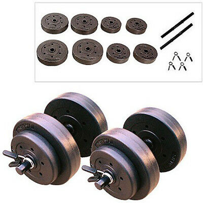 Ejercicio Equipment Gold's Gym Vinyl Dumbbell Set 40 lb Fitness Exercise