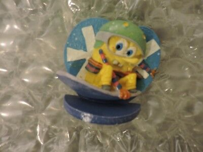 "SPONGEBOB SQUAREPANTS Shelf Figure, Skate Boarding 3"" Wide, 2012"