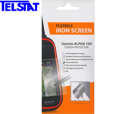 Flexible Iron Screen Protector for Garmin Alpha 100 Dog Tracking GPS