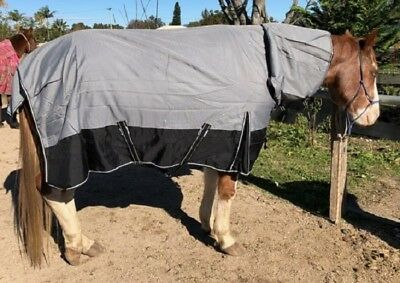 1200D Ripstop Combo Rug with 100g fill Winter Horse Rug
