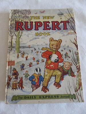 The New Rupert Book - Daily Express Annual 1951