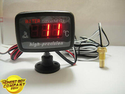 12V/24V LED Digital Meter car/truck/Motorcycle ,Water temp gauges