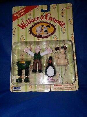 1989 - Wallace & Gromit - BNIP - Collectible Figures 4 pack