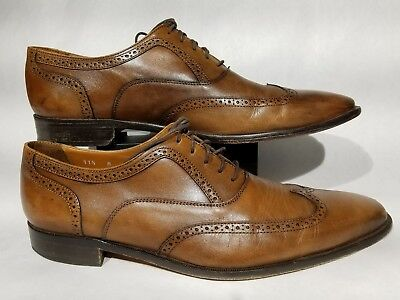 b9fc9acdeaa Broletto Bartolomeo Wingtip Oxford Men s Dress Shoes Luggage Leather 11.5  ...
