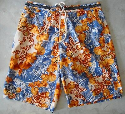 SHORT sea man vintage 90'd VERSACE made in Italy TG 48-M  RARE