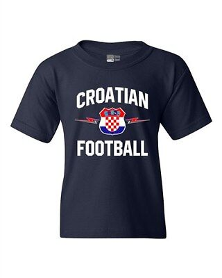 The World Croatian Football Soccer Team Sports DT Youth Kids T-Shirt Tee