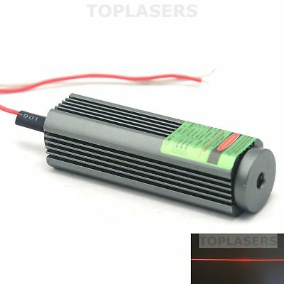Waterproof 200mW 650nm 660nm Red Laser Module Dot Diode Lazer Units 110 Degrees