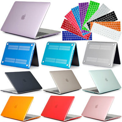 """Laptop Crystal Case + Keyboard Cover For Macbook Pro Air Retina 11"""" 12"""" 13"""" 15"""""""