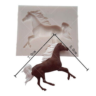 Silicone Horse Cake Chocolate Baking Mould Fondant Mold Decorating Sugarcraft