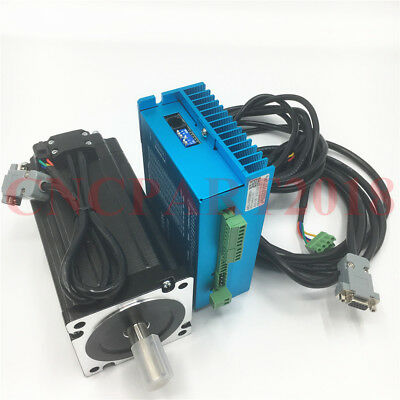 1712oz-in 12NM Closed loop Stepper Motor NEMA34 Hybrid Easy Servo Drive CNC Mill