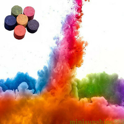 Colorful Smoky Effect Smoke Cake Stage Movie Show Round Bomb Photography Aid Toy