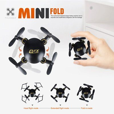 Q2 2.4Ghz 4CH 6Axis FPV RC Mini Drone Quadcopter with HD Camera 3D Flying Toys