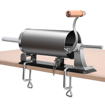 3.6L Sausage Stuffer Maker Meat Filler Machine Stainless Steel Commercial New