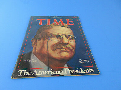 Vtg 1976 Time Magazine Theodore Roosevelt Special Report The American Presidents