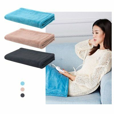 750*450*40mm Electric Heated Throw Rug Snuggle Blanket 3 Smart Heat Settings O5