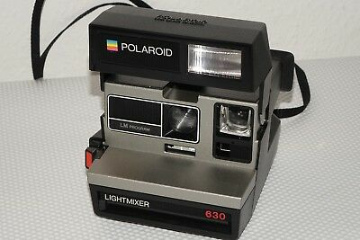 Polaroid 600 Land Camera Lightmixer 630 LM Program Sofortbildkamera gebraucht