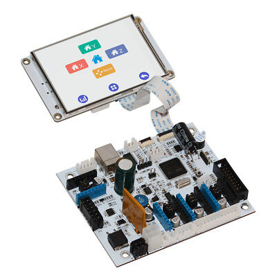 """Geeetech 3D Printer Open Source GTM32 Control Board & 3.2"""" Touch Screen Display"""