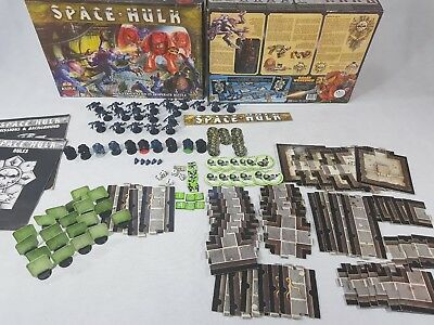 SPACE HULK 1st edition Board Game - 100% complete [ENG, 1989]