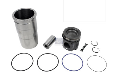 Volvo Fh Fm / Renault Truck Piston Cylinder Sleeve Liner Kit Oe 20509930 By Dt