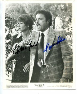 KEVIN DOBSON & DIANNE LADD  autograph HAND SIGNED 662