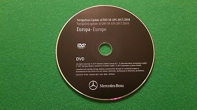 2018 Mercedes-Benz DVD Audio 50 Aps Europe NTG4 W204 C-Class