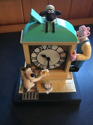 Wallace And Gromit Alarm Clock - Great Shape!
