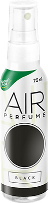 Profumo Per Auto E Casa Profumatore Deodorante Spray No Gas Air Perfume Black
