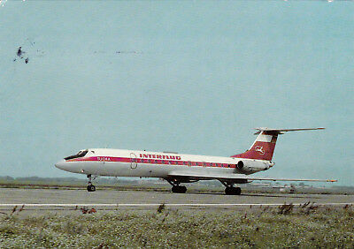Interflug, Tu 134