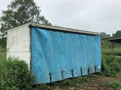 curtain shipping container  food stoarage