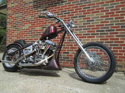 1976 Harley-Davidson 70's Authentic Style Chopper  1970's Style Chopper Harley-Davidson Shovelhead Custom Built Big Twin Engine