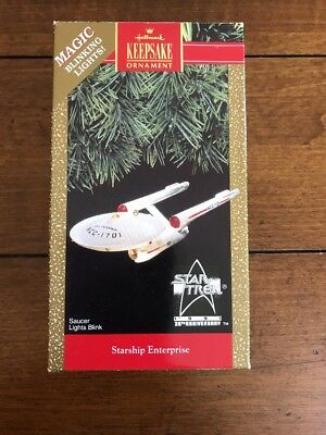 1991 Star Trek Enterprise Hallmark Ornament