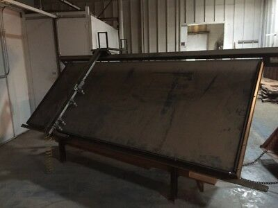 framing table/ Ritter  pneumatic 5'x10 table GC/  shop for face frames