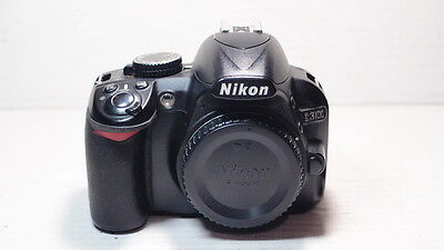 Nikon D3100 14.2 MP Digital SLR Camera - Black Body WITH BATTERY & CHARGER