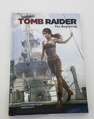 FIRST EDITION Tomb Raider The Beginning Hardcover Comic Book NEW UNREAD