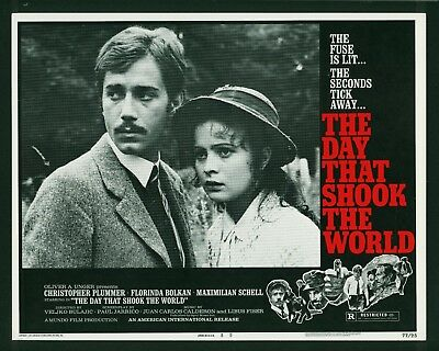 Day That Shook the World original 1977 lobby card 11x14 AIP