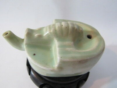 Chinese antique celadon porcelain water dropper