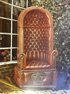 Porter Chair Hand Made Over 40 Years Ago