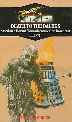 Doctor Who - Death to the Daleks Virgin reprint