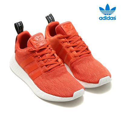 c9567642afac5 MENS ADIDAS ORIGINALS NMD R2 Primeknit Red Sneakers BY9915 NEW ...