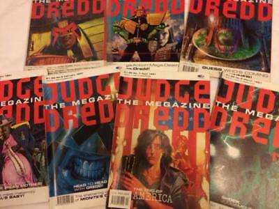 JUDGE DREDD MEGAZINE (vol 1) # 1-7, 9-12 1990/91
