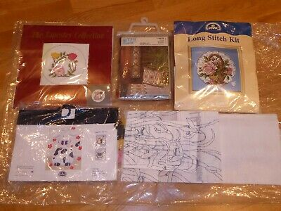 DAISY THE COW LONG STITCH TAPESTRY KIT V02N48 23 x 19cm - 4 skeins wool missing