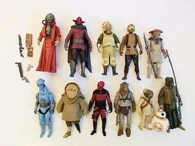 Star Wars The Force Awakens Action Figuren Sammlung Lot Hasbro 3.75 Trilogy Saga