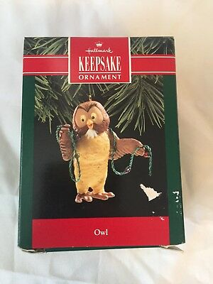 1991 Owl- Winnie the Pooh Collection Hallmark Keepsake Ornament