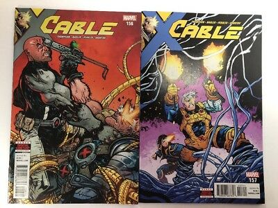 Cable 2 Comic Lot (156 157) X-Men Marvel Legacy 2018